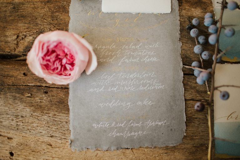 watercolor-calligraphy-menu